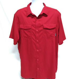 Columbia Sportswear Red Vented Short Sleeve XL